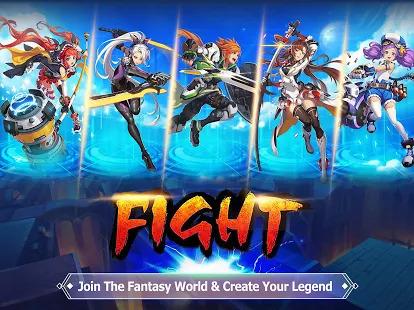 Blade & Wings: 3D Fantasy Anime of Fate & Legends Screenshot