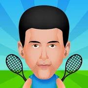 Circular Tennis 2 Player Games