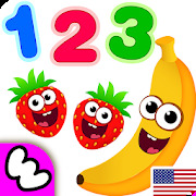 Funny Food 123! Kids Number Games for Toddlers