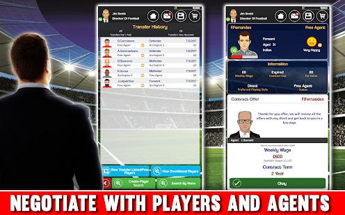 Club Soccer Director - Soccer Club Manager Sim Screenshot