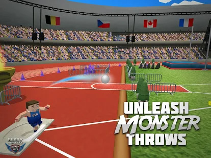 Buddy Athletics Track & Field Screenshot