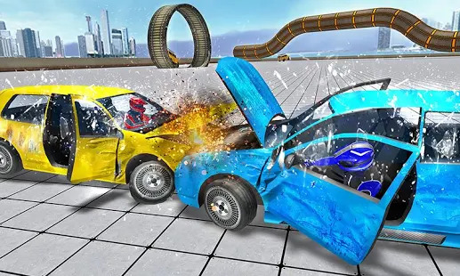 Crash Car Drive 2018 Screenshot