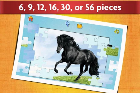 Horse Jigsaw Puzzles Game - For Kids & Adults ???? Screenshot
