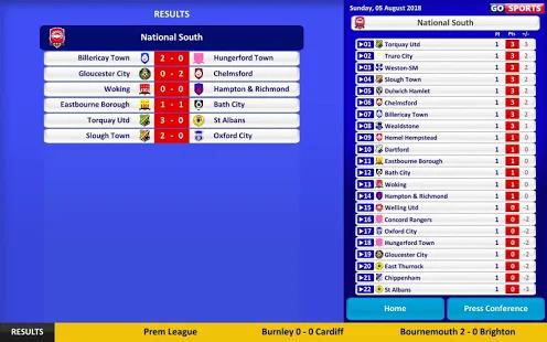 Club Soccer Director 2019 - Soccer Club Management Screenshot