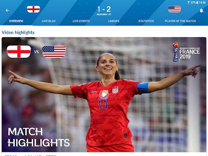 FIFA - Tournaments Soccer News & Live Scores Screenshot