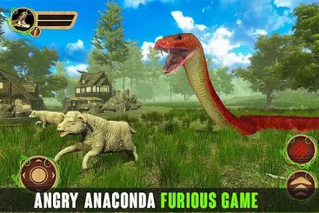 Anaconda Snake 2020: Anaconda Attack Games Screenshot