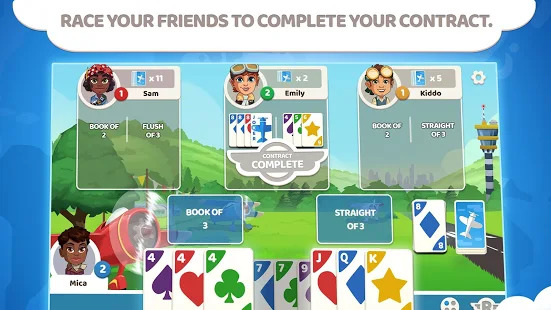 Passport Rummy - Card Game Screenshot