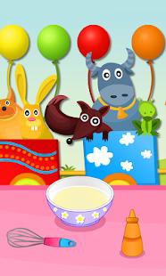 Cupcakes Making Cupcake baking Screenshot