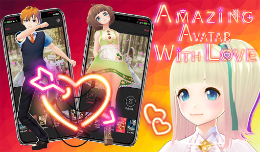 Lovley Avatar: Anime Avatar Maker Screenshot