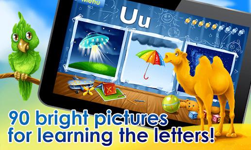ABC Alphabet! ABCD games! Learn letters Screenshot
