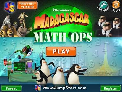 Madagascar Math Ops Free Screenshot