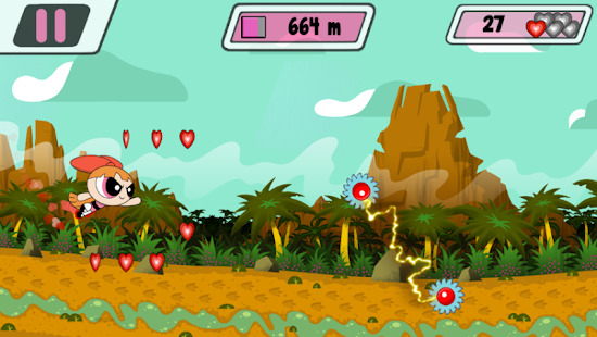 Powerpuff Girls  Mojo Madness Screenshot