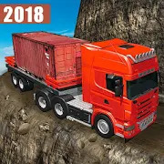 Truck Driving Uphill - Loader and Dump