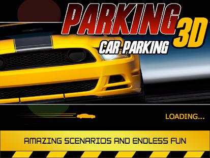 Parking 3D - Car Parking Screenshot