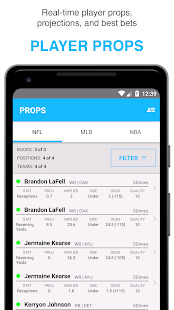FantasyLabs - DFS Lineup Builder Props Articles Screenshot