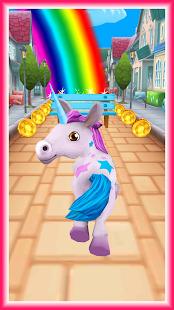 Unicorn Runner 3D - Horse Run Screenshot
