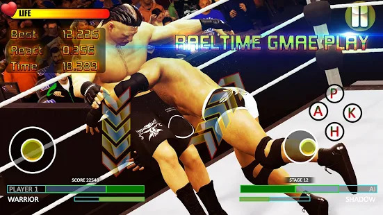 Wrestling Revolution Champion 2019:World Tag Team Screenshot