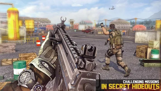 FPS Encounter Shooting 2020: New Shooting Games Screenshot