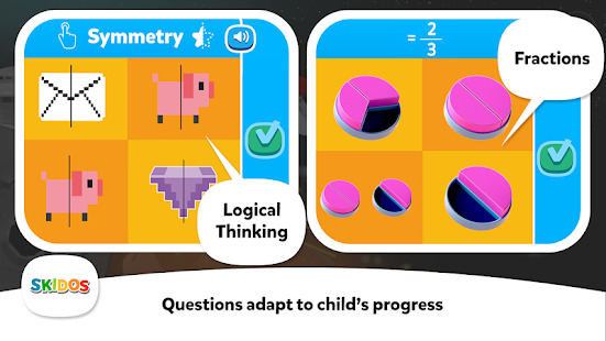Cool Math Games: Kids BikeRacing For Boys Girls Screenshot