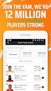 DraftKings - Daily Fantasy Sports for Cash Screenshot