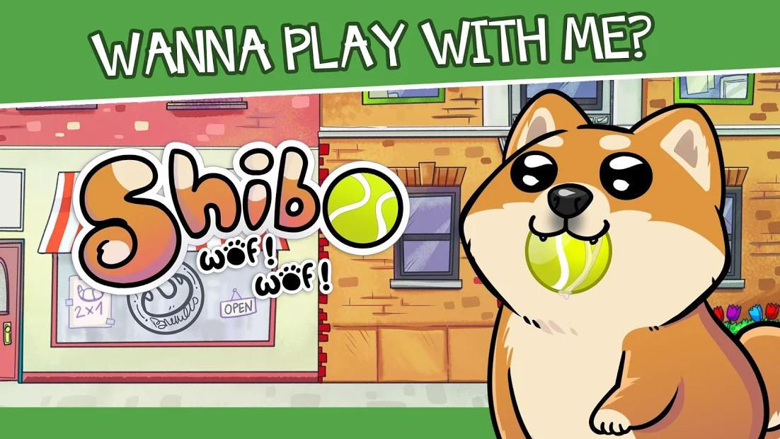 Virtual Dog Shibo  Virtual Pet and Minigames