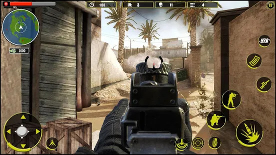 Games.lol | Game » Wicked Guns Battlefield : Gun Simulator