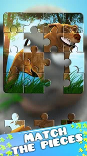 Farm Games Kids Jigsaw Puzzles Screenshot