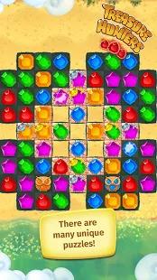 Treasure Hunters: free match3 gems Screenshot