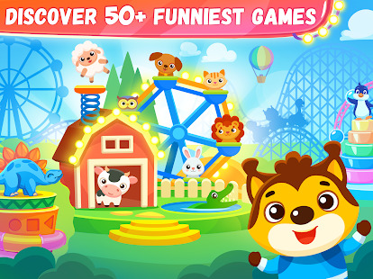 Educational games for kids & toddlers 3 years old Screenshot