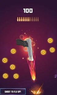 Flip the Gun: Simulator Gun Shooting Game. Screenshot