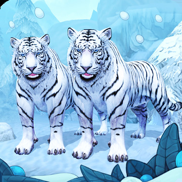 White Tiger Family Sim Online - Animal Simulator