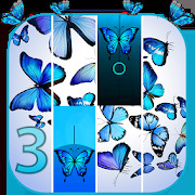 Blue Butterfly Piano Tiles 2019 - Magic Game Piano