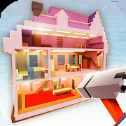 Dollhouse Builder Craft: Doll House Building Games