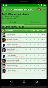 Live CricInfo - Live Cricket Scores Screenshot
