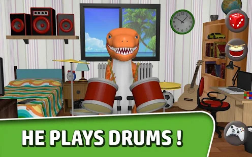 Talking Dino - Trex Dinosaur Screenshot
