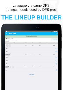 FantasyLabs - DFS Lineup Builder, Props, Articles Screenshot