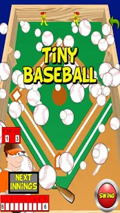 Tiny  Baseball Flip Baseball Screenshot