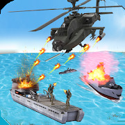 Helicopter Strike Gunship War: 3d Helicopter Games