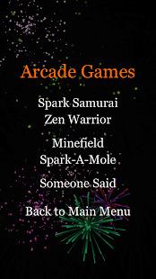 Fireworks Arcade Screenshot