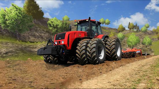Tractor Drive 3D : Offroad Sim Farming Game Screenshot