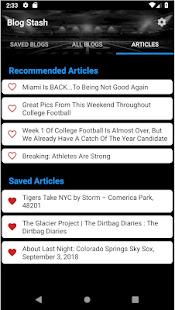 Blog Stash Screenshot