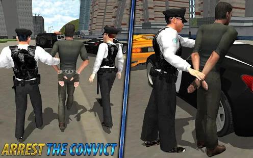 Police officer criminal case investigation games Screenshot
