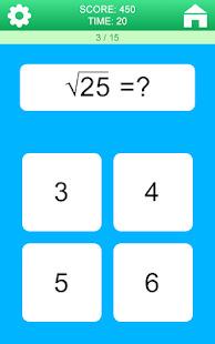 Math Games Screenshot