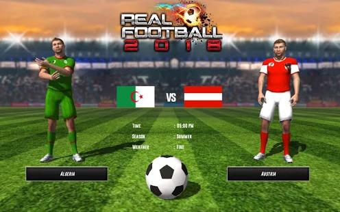 REAL FOOTBALL CHAMPIONS LEAGUE : WORLD CUP 2018 Screenshot