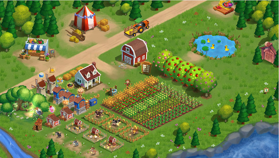 FarmHill - Frenzy Farm Village - Farm scapes Screenshot