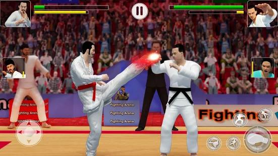 Tag Team Karate Fighting Tiger: World Kung Fu King Screenshot