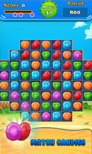 Booster Candy : Candy Jelly Crush Blast Mania Screenshot