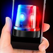 Siren police flasher sound sim prank game