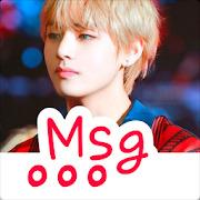 BTS Fake Messenger : V