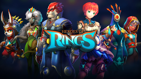 Heroes of Rings: Dragons War Screenshot